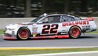 Cindric's No. 22 Xfinity Series car at Road America