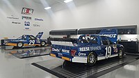 Cindric's No. 19 Draw-Tite Ford F-150 at the Brad Keselowski Racing shop