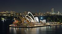 The Sydney Opera House was completed in 1973 and has become a World Heritage Site.