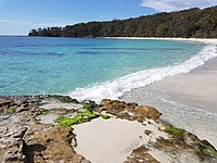 Jervis Bay in southern New South Wales