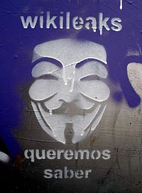 """Graffiti in Bilbao """"We want to know."""""""