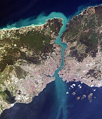 The Bosporus, taken from the International Space Station