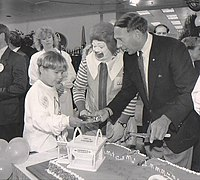 Opening of the 600th McDonald's Canada location at the Skydome in August 1989
