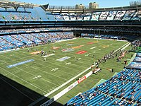 The Rogers Centre's field arranged for Canadian football