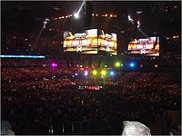 UFC 129 was held at the Rogers Centre in April 2011
