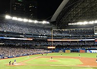 The 2016 American League Wild Card Game held at the Rogers Centre