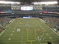 Scene from the 95th Grey Cup in 2007, the first Grey Cup to be held in the city since 1992