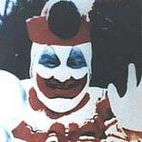 "Gacy as ""Pogo the Clown"". He stated that acting as a clown allowed him to ""regress into childhood""."