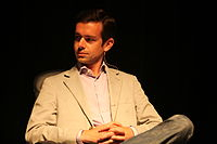 Jack Dorsey, co-founder and CEO of Twitter, in 2009