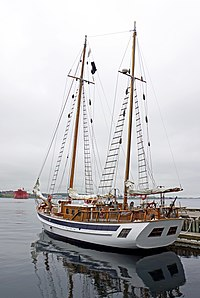 The Mar is a 75 ft. wooden ketch built in Denmark in 1975 by world renowned American aviator, author, filmmaker, sailor, fisherman and conservationist, Ernest K. Gann.
