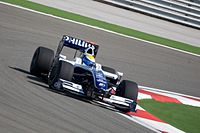 Rosberg driving for Williams at the 2009 Turkish Grand Prix
