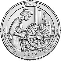 Lowell in the America the Beautiful quarter series