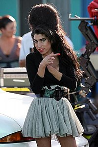 Winehouse in Los Angeles, May 2007.