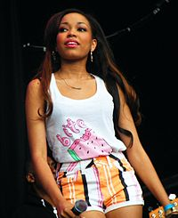 The first act on Winehouse's record label was her goddaughter Dionne Bromfield.