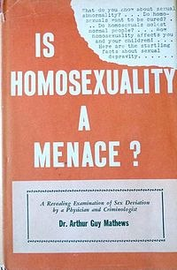 Is Homosexuality a Menace?