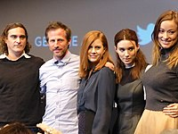 The cast of Her at the New York Film Festival in 2013