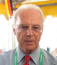 Bayern's former president from 1994 to 2009 and former player Franz Beckenbauer