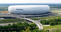 Opened in 2005: the Allianz Arena, one of the world's most modern football stadiums.