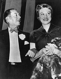 Porter and Jean Howard in early 1954