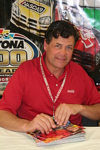 Michael Waltrip (pictured in 2008) had the fourth pole position of his career.
