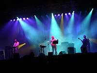 King Crimson performing at the Dour Festival, 2003