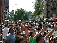 Millions of spectators gather every June for the New York City Pride March.