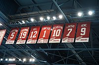 Retired number