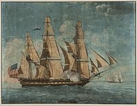 USS Constitution: Commissioned and named by President Washington in 1794