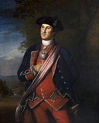Colonel George Washington, by Charles Willson Peale, 1772