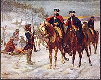 Washington and Lafayette at Valley Forge, by John Ward Dunsmore (1907)
