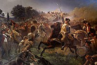 Washington Rallying the Troops at Monmouth, Emanuel Leutze (1851–1854)