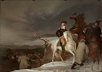 The Passage of the Delaware, by Thomas Sully, 1819 (Museum of Fine Arts, Boston)