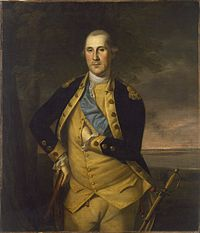 General Washington, Commander of the Continental Army by Charles Willson Peale (1776)