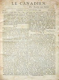 History of Canadian newspapers