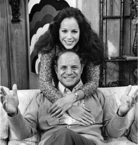 Rickles and Louise Sorel in The Don Rickles Show
