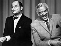 Rickles and Lorne Greene on The Don Rickles Show in 1968