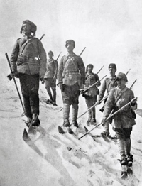 1914, Ottoman 3rd Army with winter gear