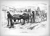 1915, After the Defense of Van behind the retreating Russian forces, 250,000 Armenian refugees fled to the Caucasus
