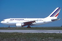 Air France Airbus A310 in the 1976 Livery