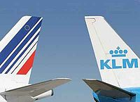 The merger of Air France and KLM occurred in 2004