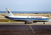 A Dassault Mercure of Air Inter, which became part of Air France in 1990.