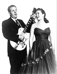 Paul and Mary Ford in 1954