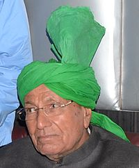Om Prakash Chautala served for four terms