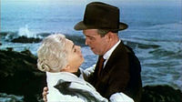 Stewart's last collaboration with Hitchcock was Vertigo (1958), in which he co-starred with Kim Novak.