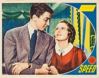 Speed (1936) was Stewart's first top-billed role at MGM. It was a critical and commercial failure.