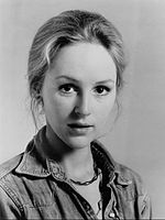 Actress Bonnie Bedelia in 1974. She was chosen by Willis to portray Holly Gennero-McClane after he saw her performance in Heart Like a Wheel (1983).