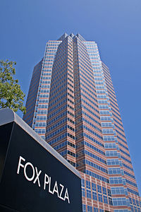 Fox Plaza—in Century City, Los Angeles—which served as the setting for Nakatomi Plaza