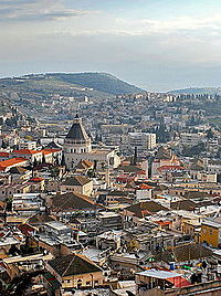 """Nazareth is described as the childhood home of Jesus. Many languages employ the word """"Nazarene"""" as a general designation for those of Christian faith."""