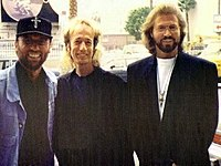 The Bee Gees in Los Angeles in 1992