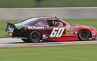 Buescher's 2014 Nationwide car at Road America